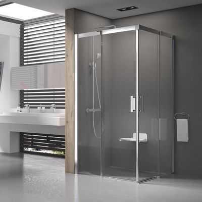 Kabiny prysznicowe Ravak do światłych łazienek