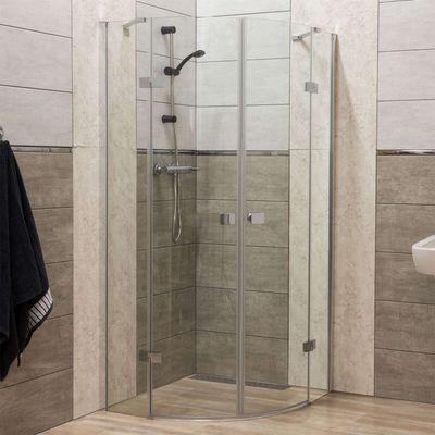 Kabiny prysznicowe 80×80 najwłaściwsze do odpływu punktowego!