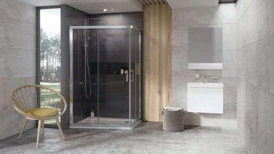 aranżacja łazienki z kabiną