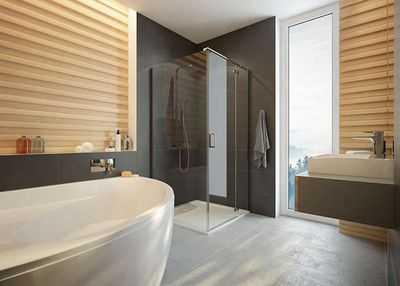 Kabiny prysznicowe do światłych łazienek