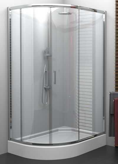 Jaką kabinę półokrągłą wybrać do małej łazienki?