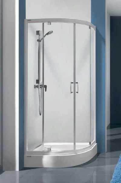 Kabiny półokrągłe do łazienki na poddaszu!